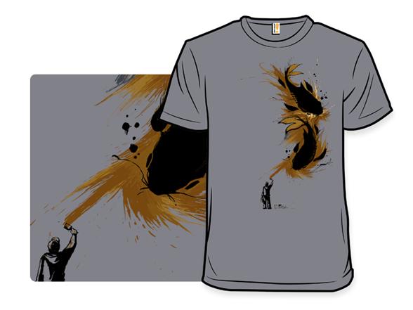 Urban Painter Remix T Shirt