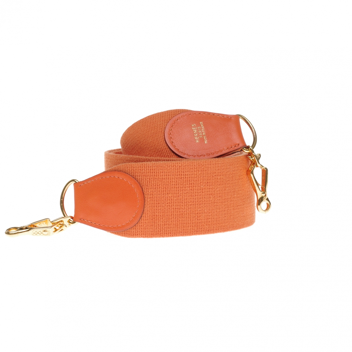 Hermès \N Orange Cloth Purses, wallet & cases for Women \N