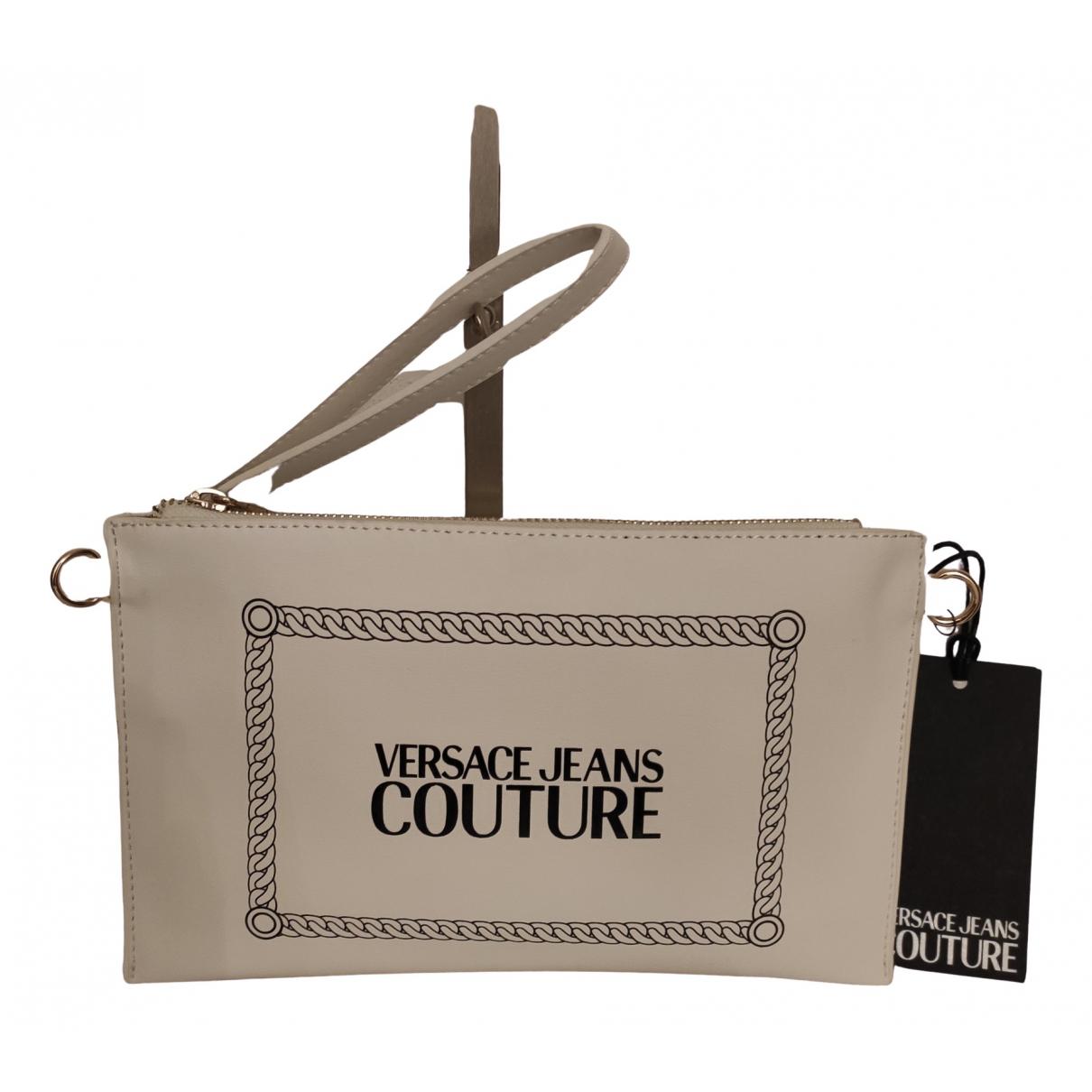 Versace Jeans \N Clutch in  Weiss Synthetik