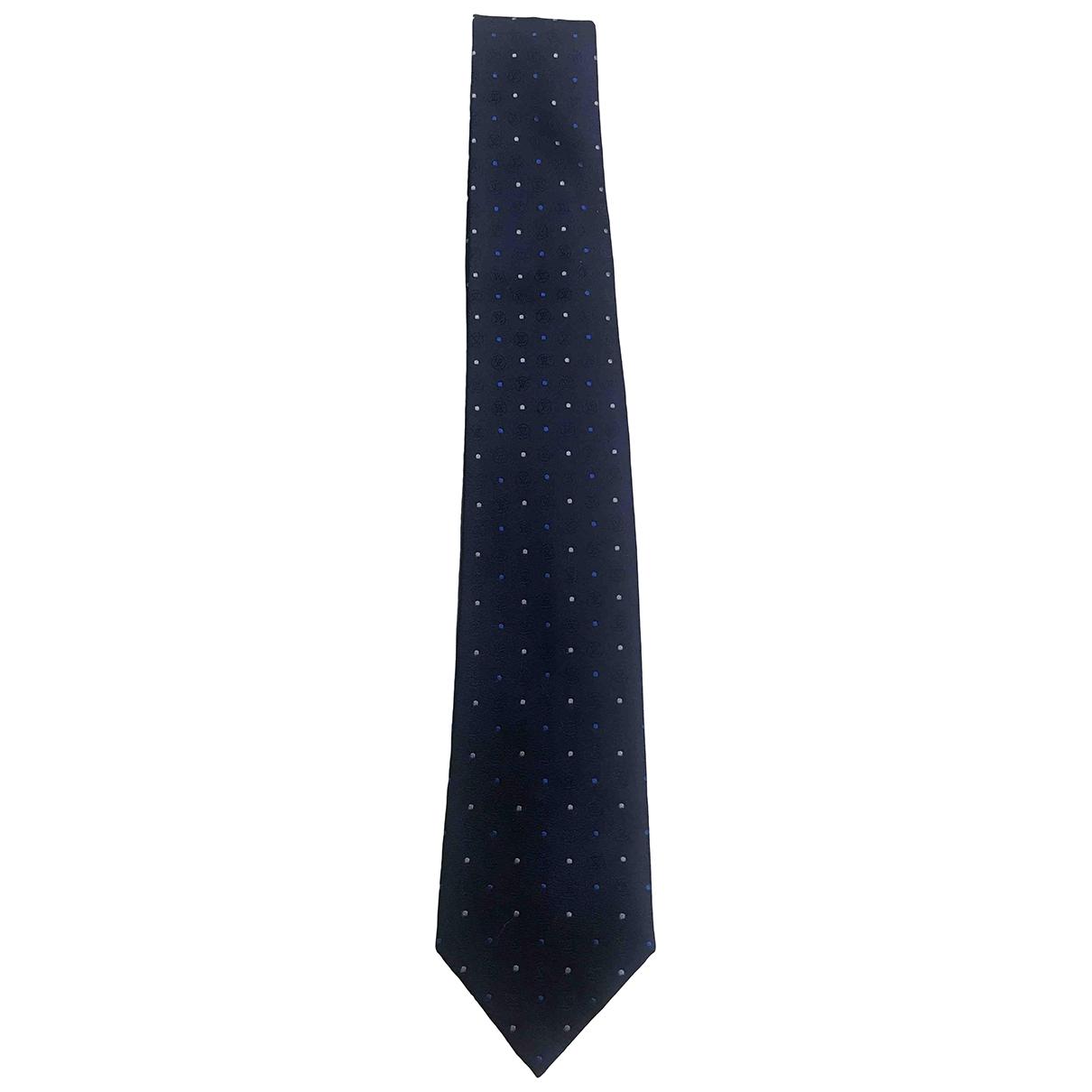 Louis Vuitton \N Blue Silk Ties for Men \N