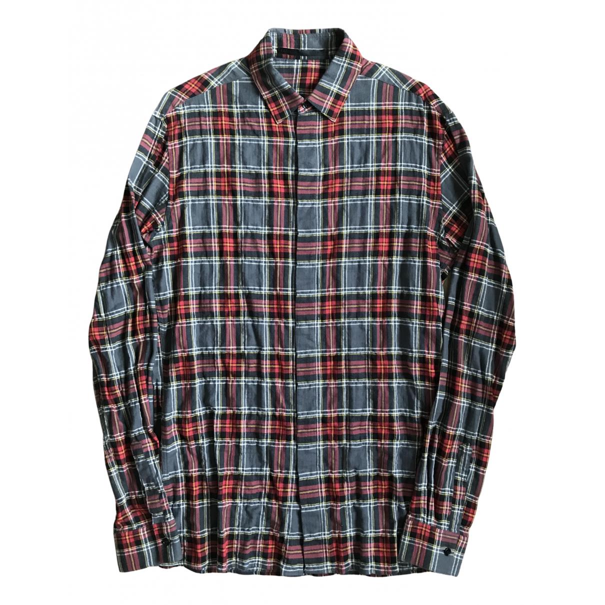 Haider Ackermann N Grey Cotton Shirts for Men S International