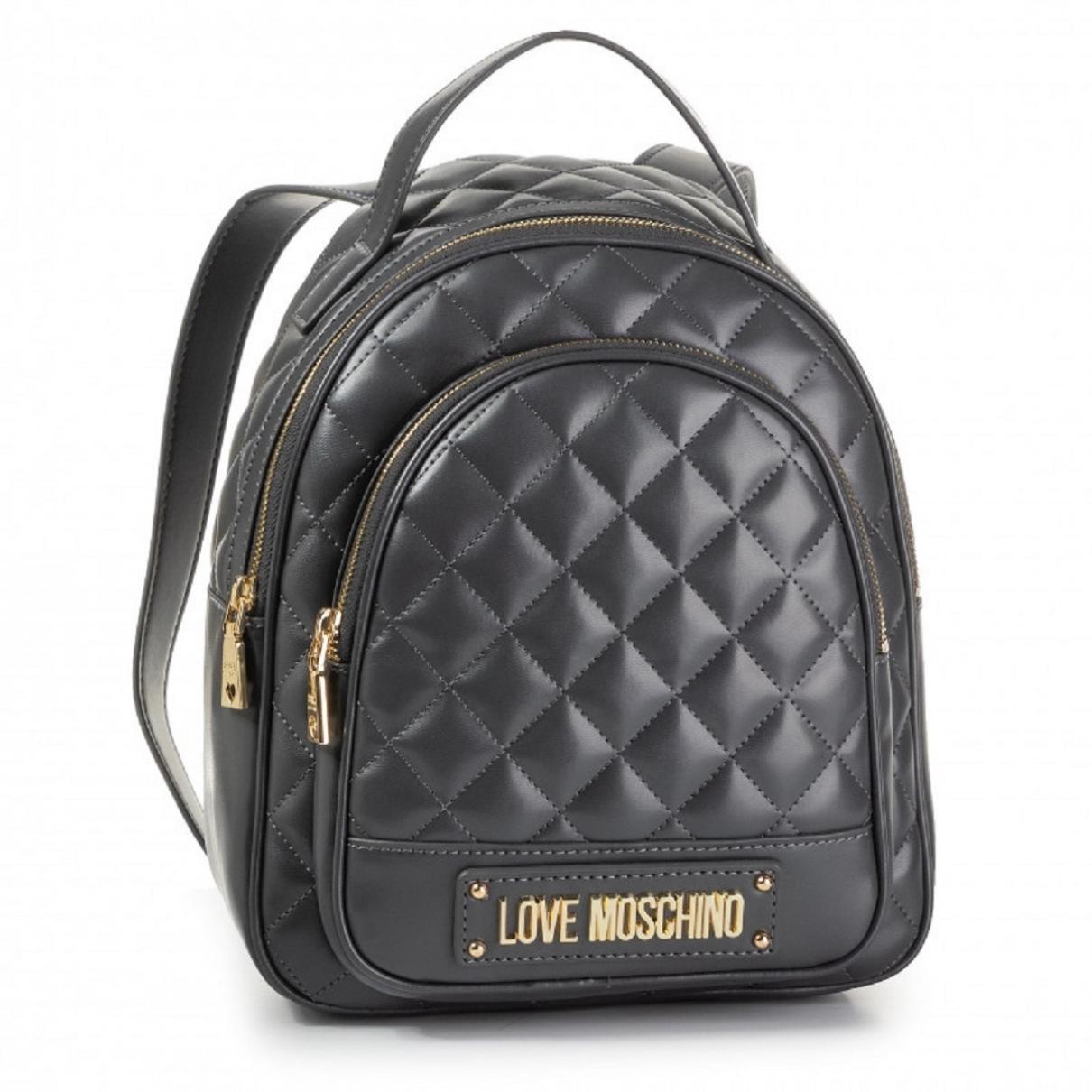 Moschino Love \N Black Cloth backpack for Women \N