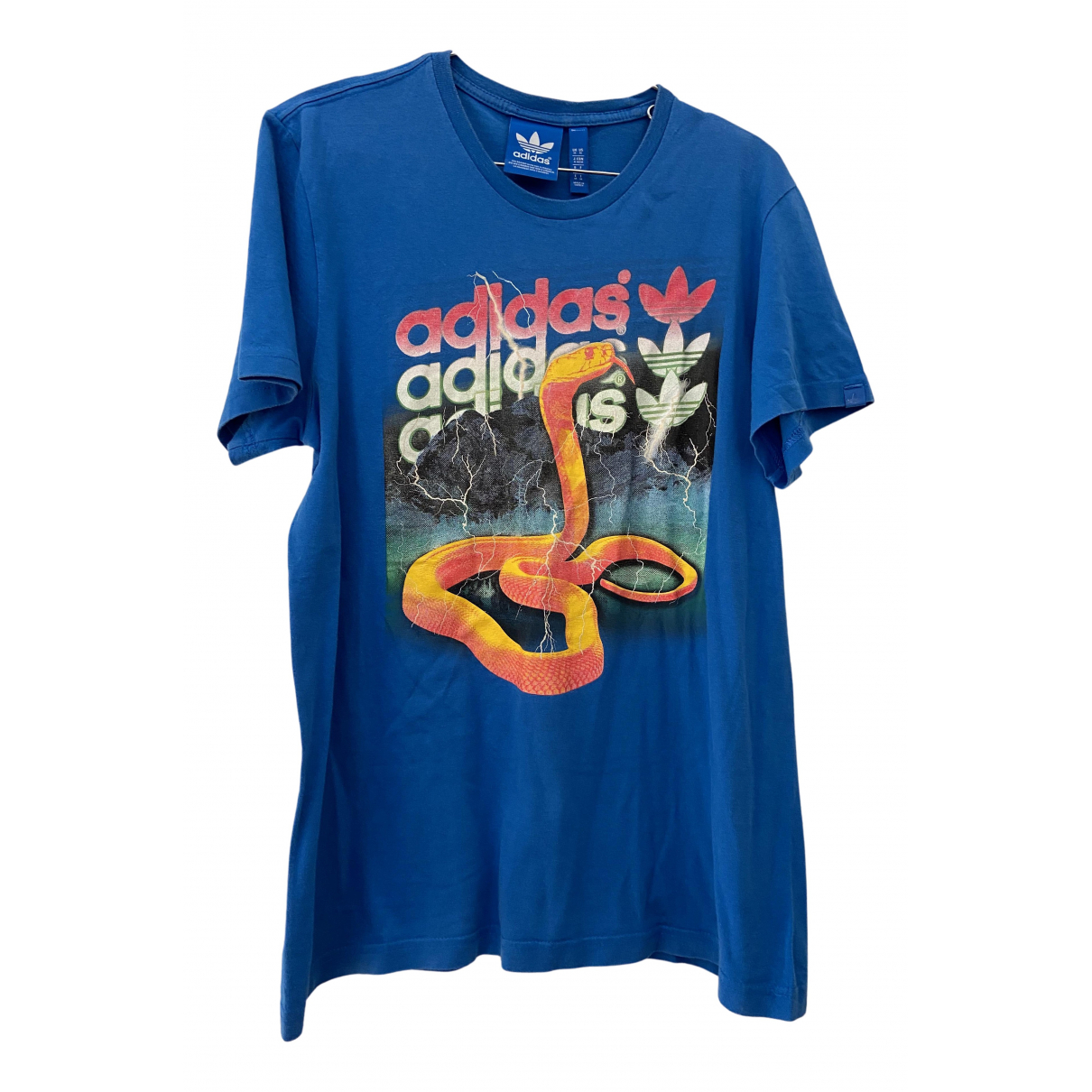 Adidas N Grey Cotton T-shirts for Men M International