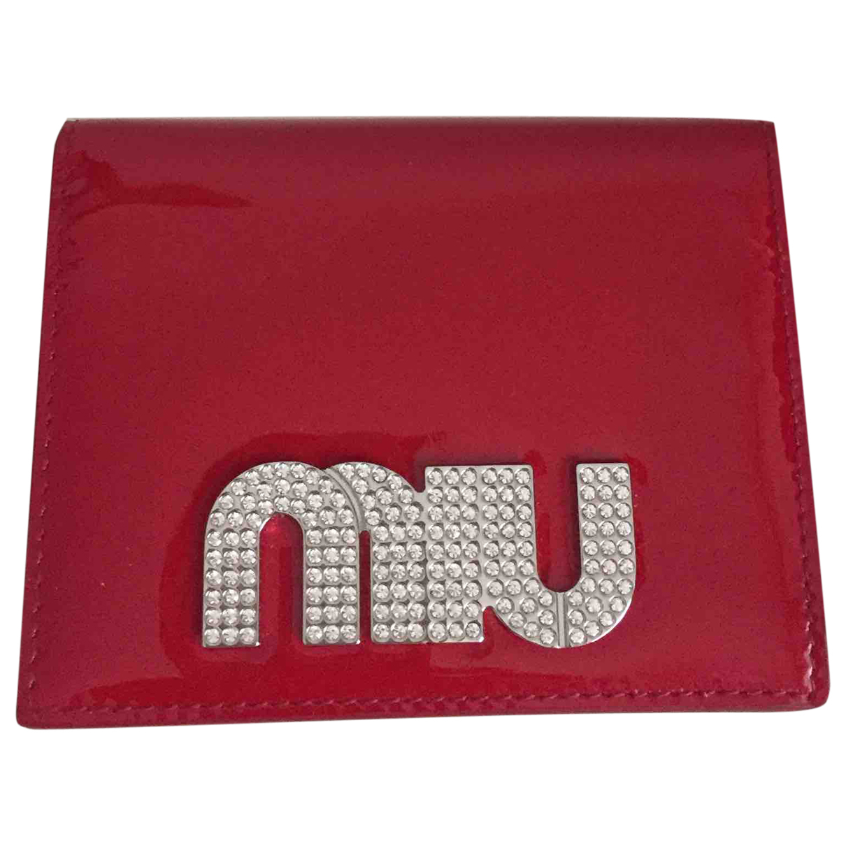 Miu Miu N Red Patent leather Purses, wallet & cases for Women N