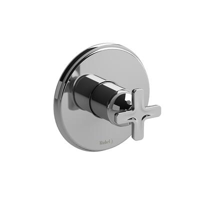 Momenti TMMRD51XC Pressure Balance Valve Trim with x Cross Handles  in