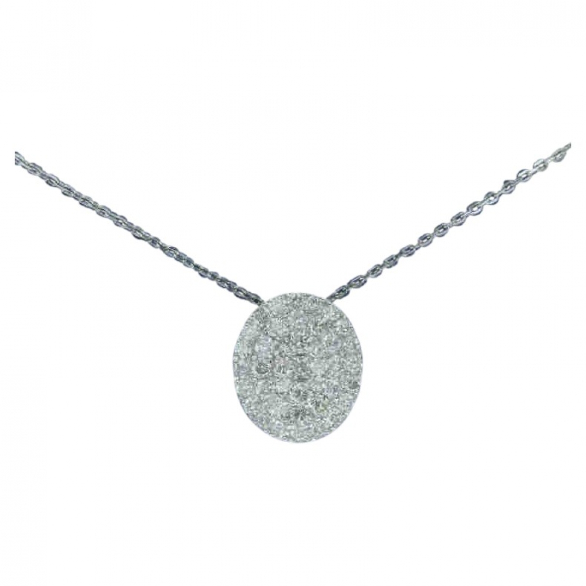 Non Signe / Unsigned \N Kette in  Silber Weissgold