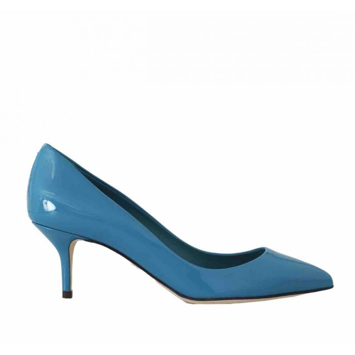 Dolce & Gabbana \N Pumps in  Blau Lackleder