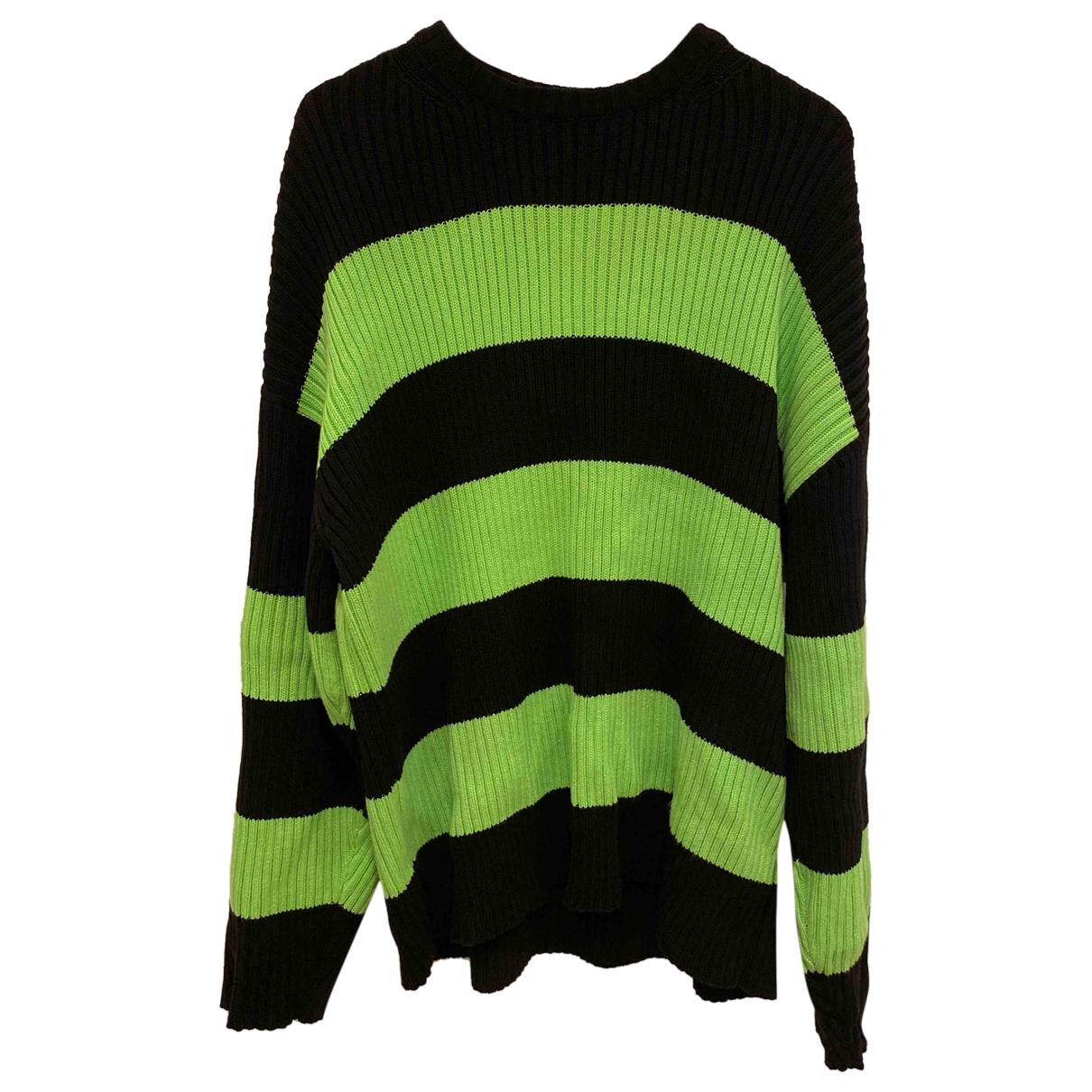 Balenciaga \N Pullover.Westen.Sweatshirts  in  Gruen Baumwolle