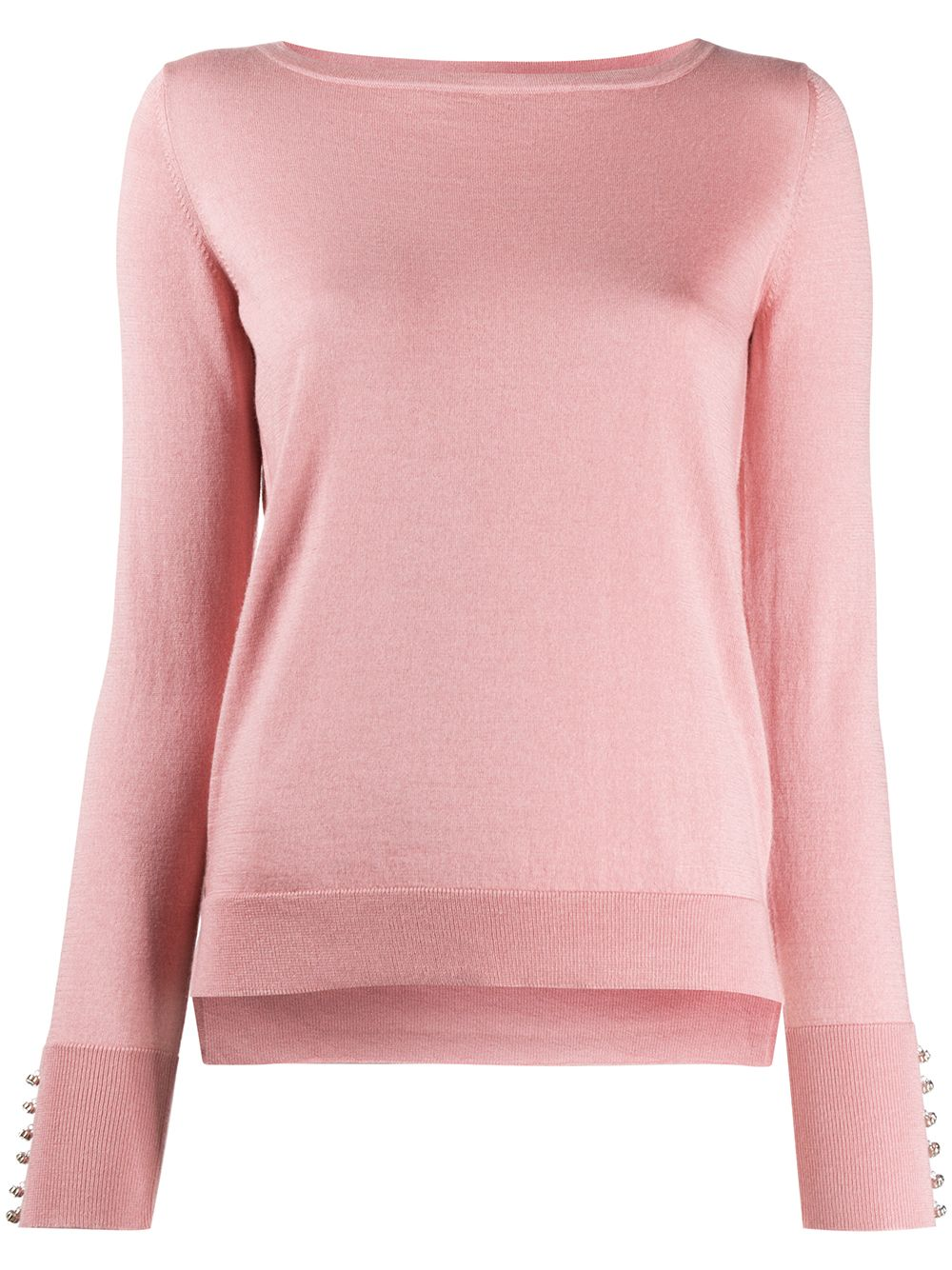 Silk And Cashmere Blend Swarovski-embellished Pullover