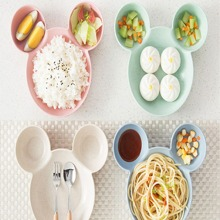 1pc Plastic Baby Plate