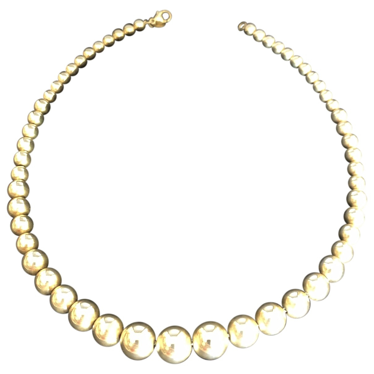 Tiffany & Co \N White Silver necklace for Women \N