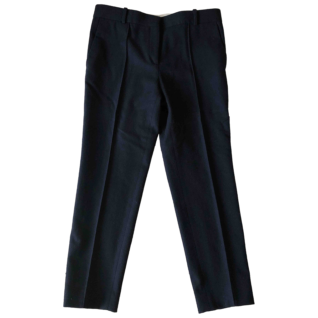 Celine - Pantalon   pour femme en laine - bleu