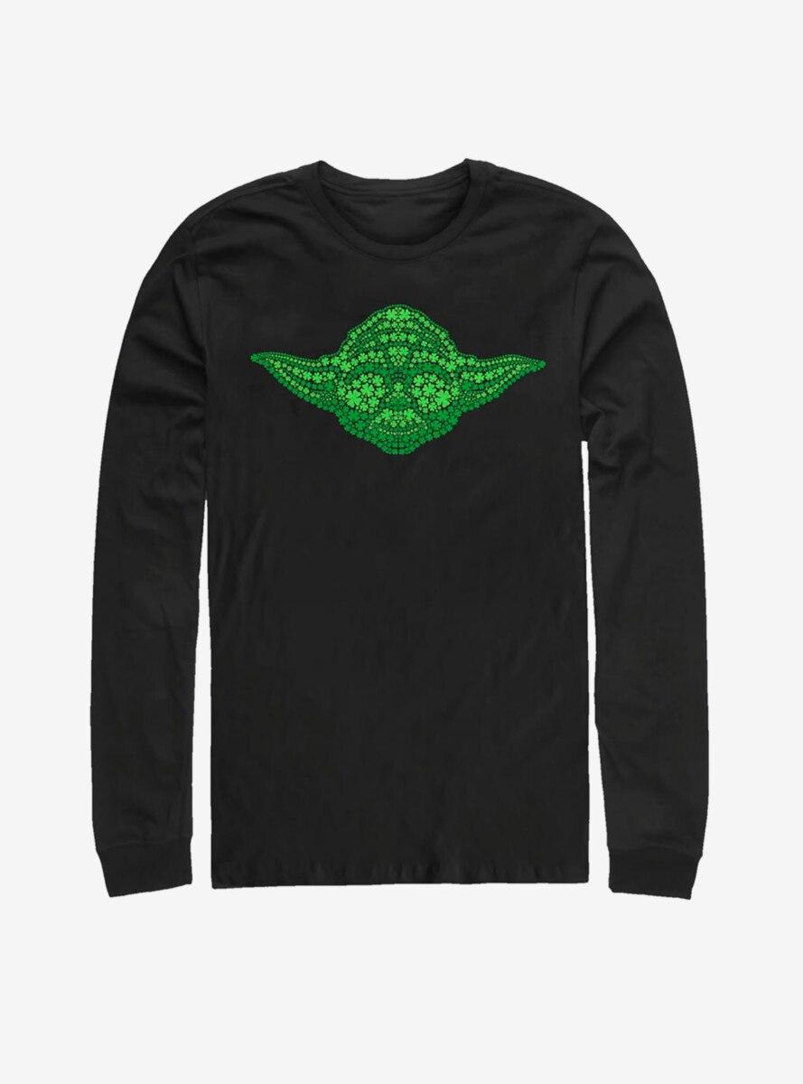 Star Wars Yoda Clovers Long-Sleeve T-Shirt