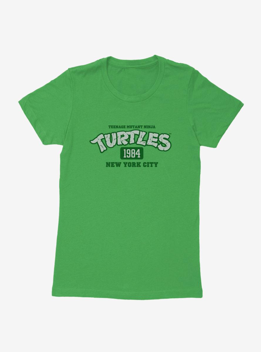 Teenage Mutant Ninja Turtles 1984 New York City Title Womens T-Shirt