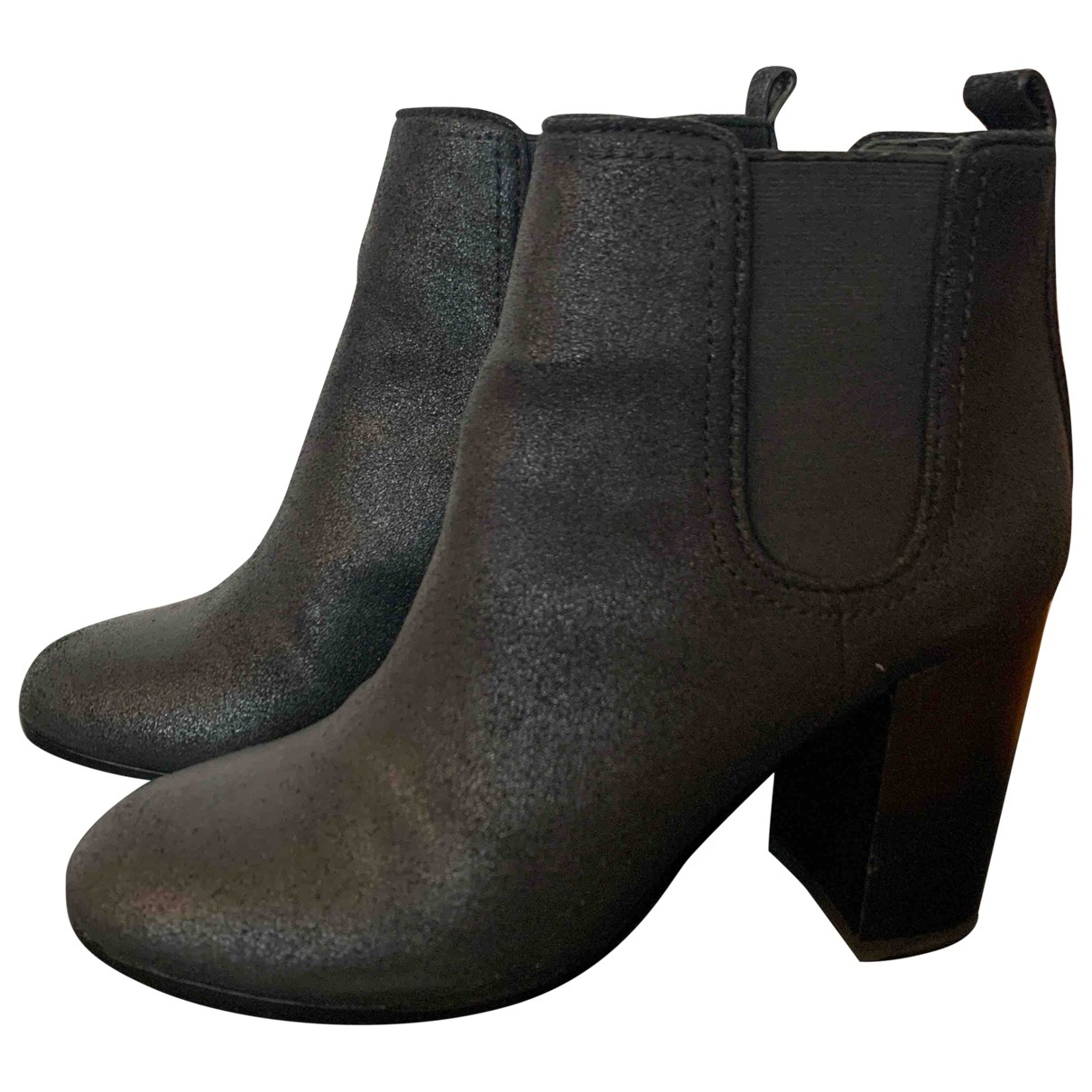 Tory Burch \N Black Leather Boots for Women 6.5 US