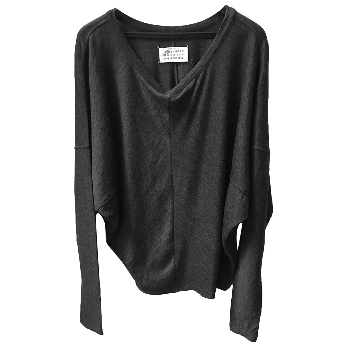 Maison Martin Margiela \N Grey Wool Knitwear for Women L International