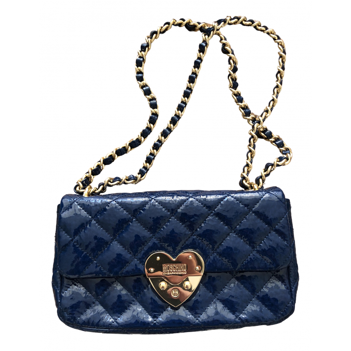 Moschino Cheap And Chic \N Blue Leather handbag for Women \N