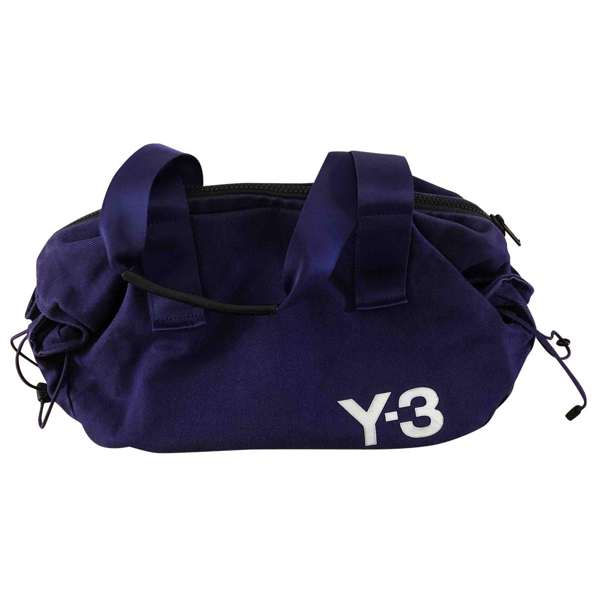 Y-3 By Yohji Yamamoto - Sac a main   pour femme en coton - violet