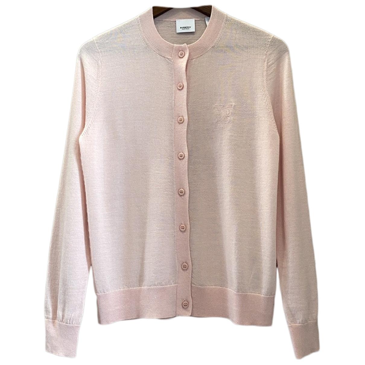 Burberry \N Pink Cashmere Knitwear for Women S International