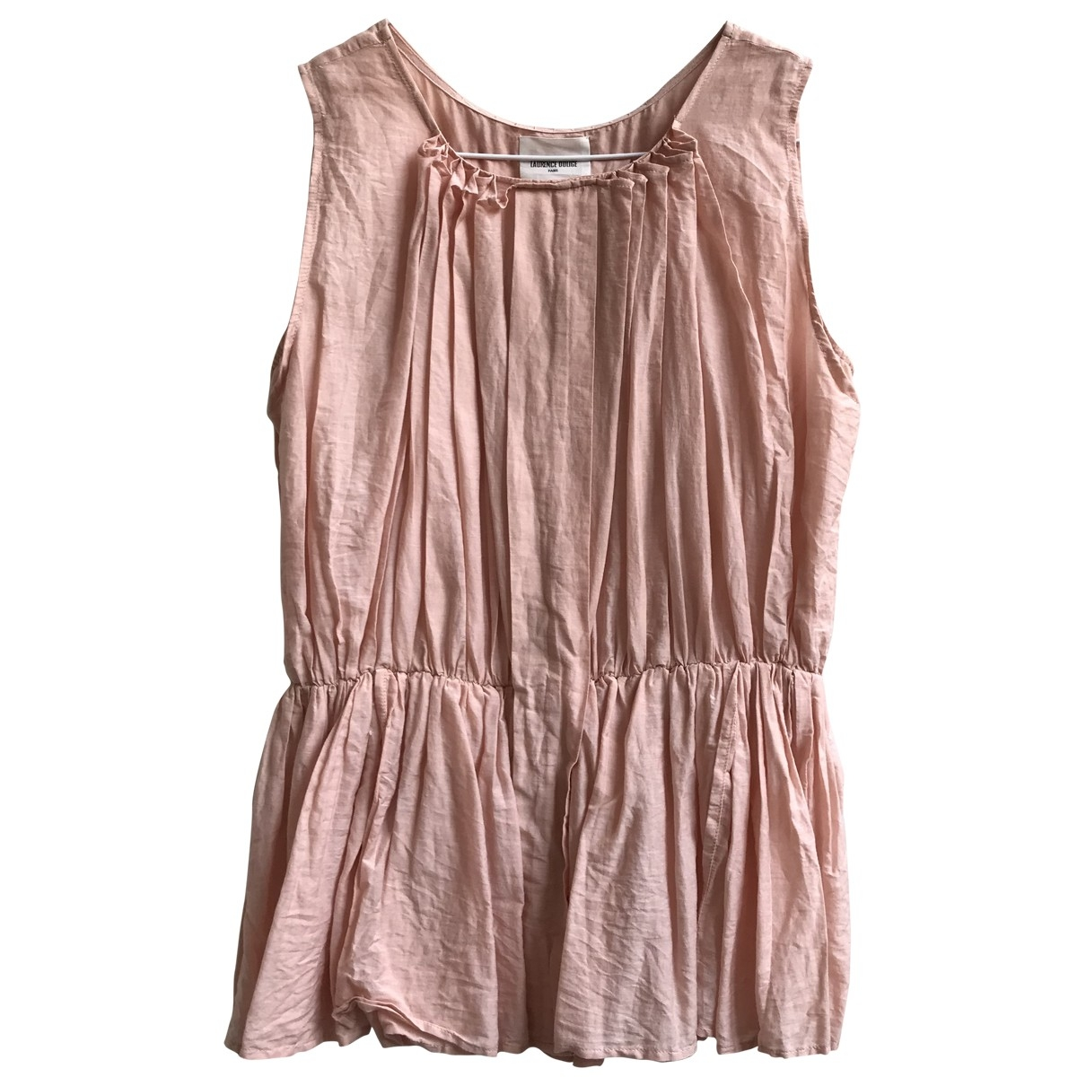 Laurence Dolige - Top   pour femme en coton - rose