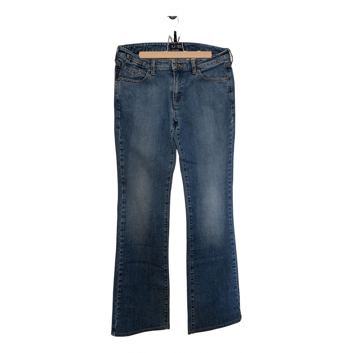 Armani Jeans \N Blue Denim - Jeans Jeans for Women 38 FR