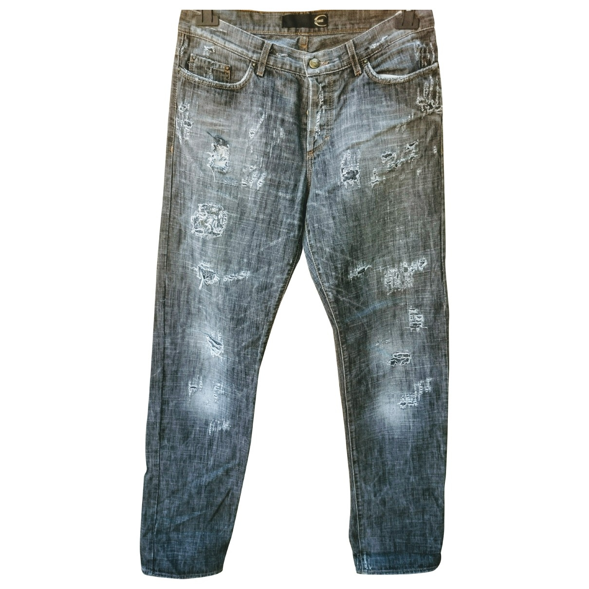 Just Cavalli \N Grey Cotton Jeans for Men 34 US