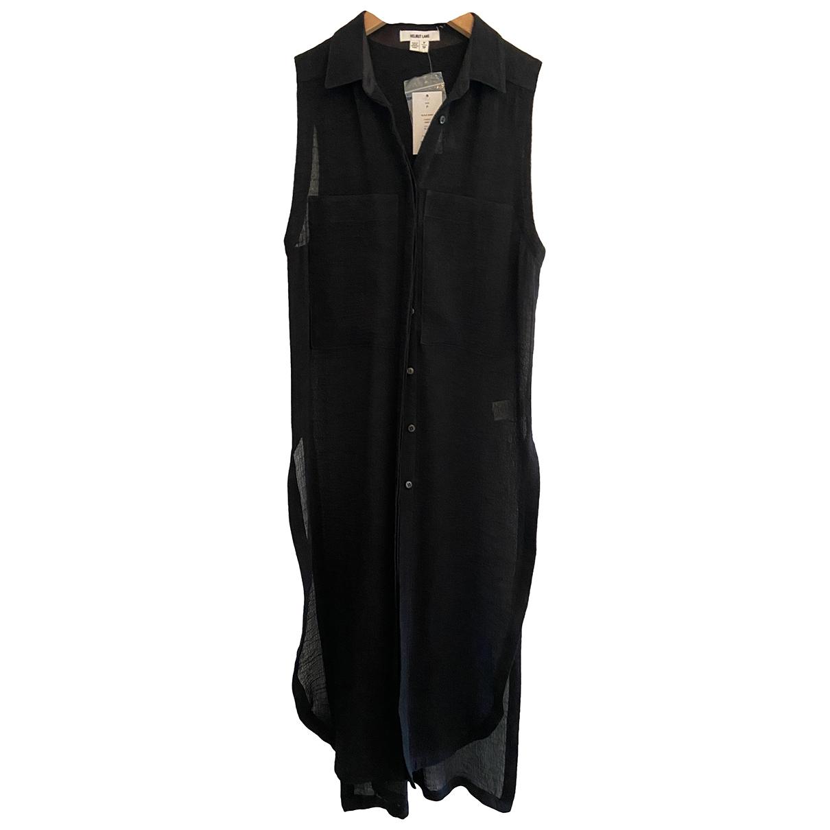 Helmut Lang \N Black Cotton dress for Women XS International