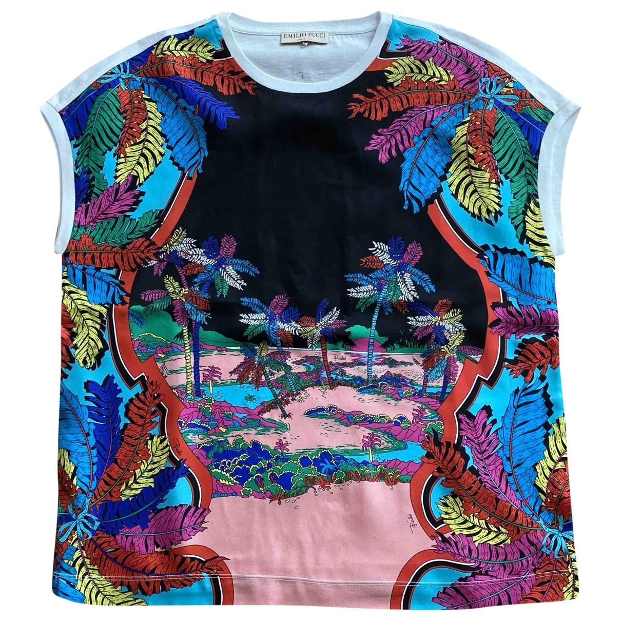 Camiseta de Seda Emilio Pucci