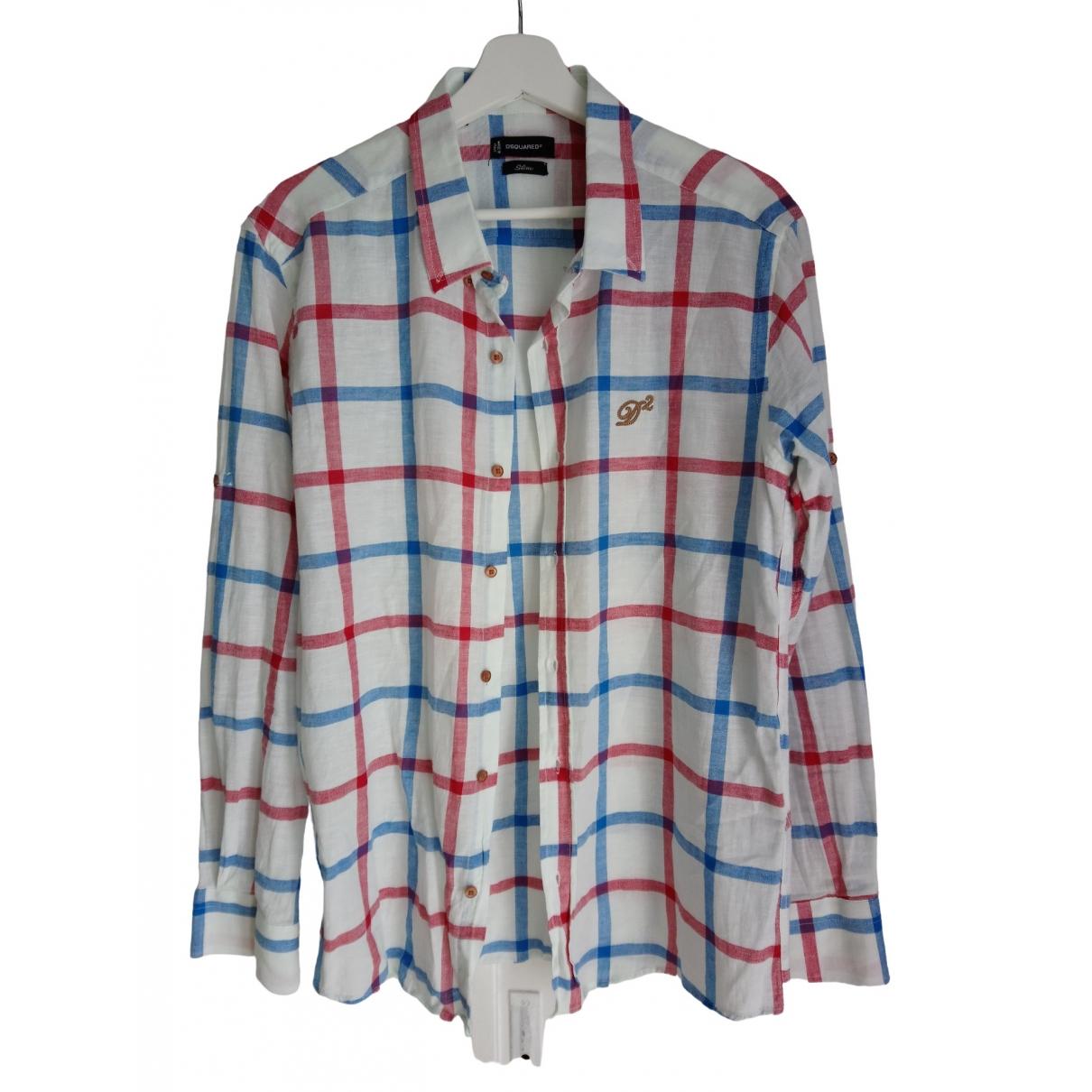 Dsquared2 - Chemises   pour homme en coton - multicolore