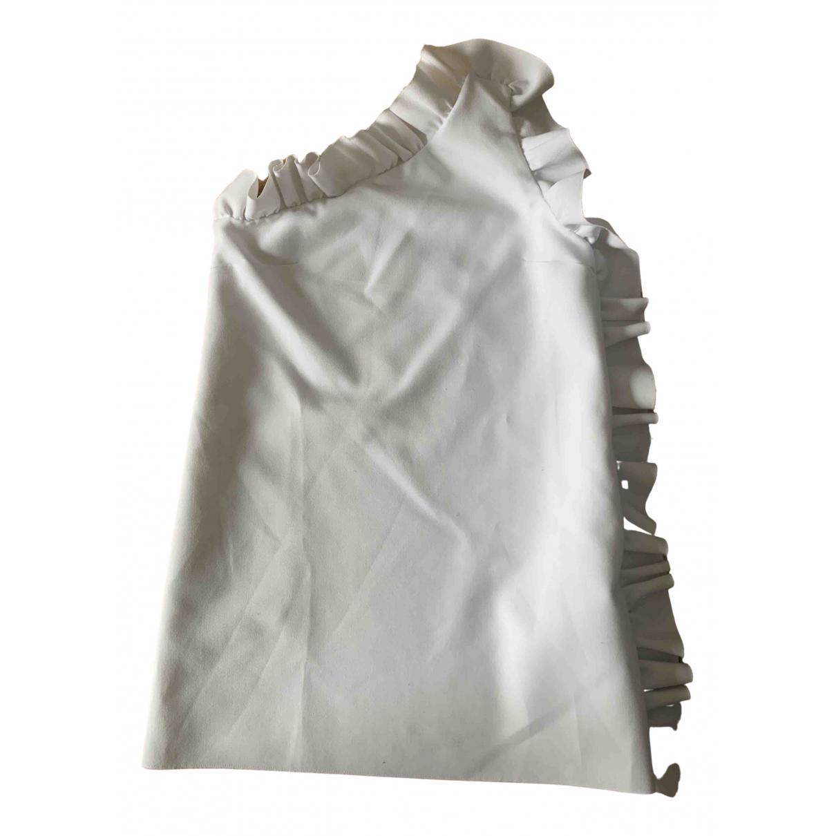 Msgm - Robe   pour femme - blanc