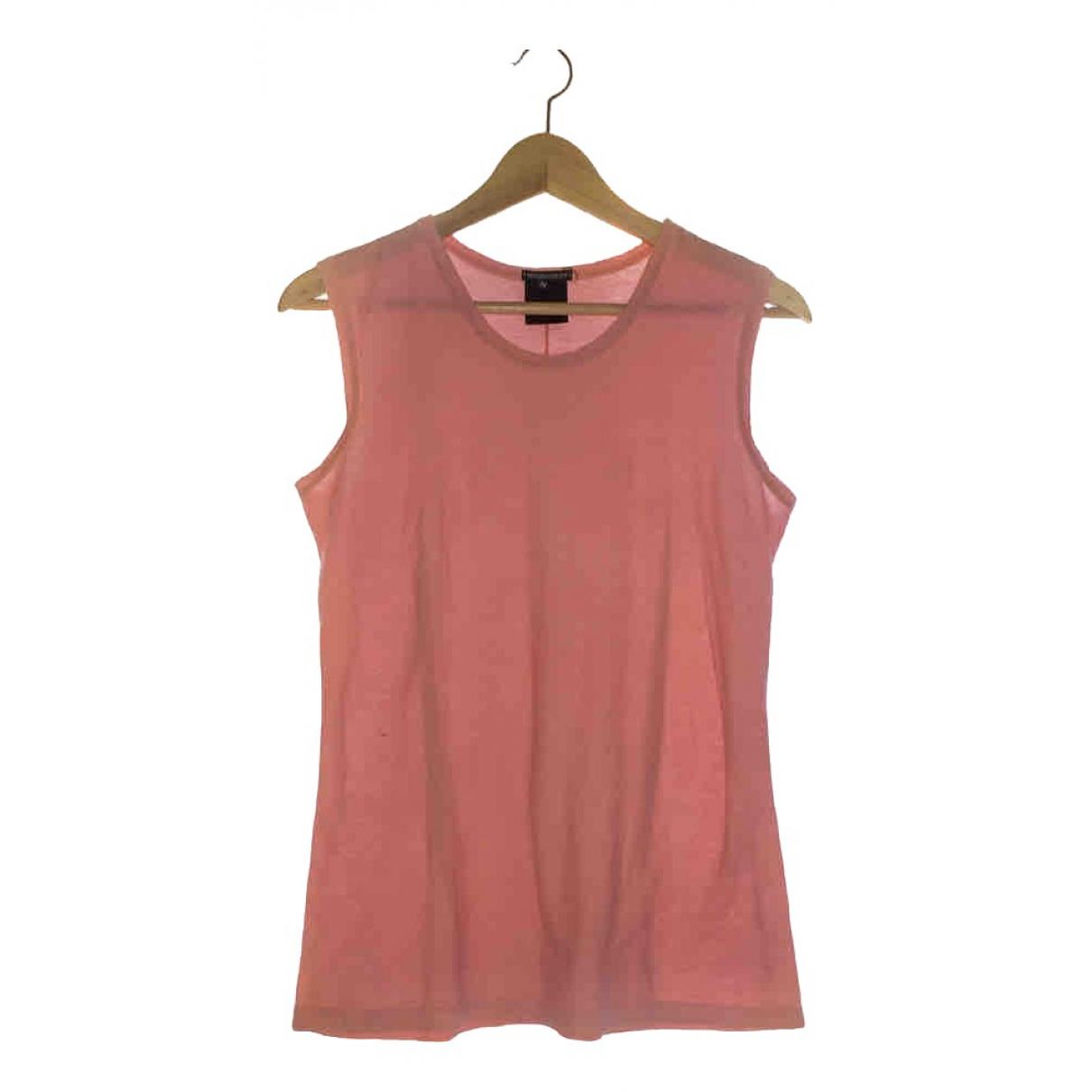 Ann Demeulemeester - Top   pour femme en coton - rose