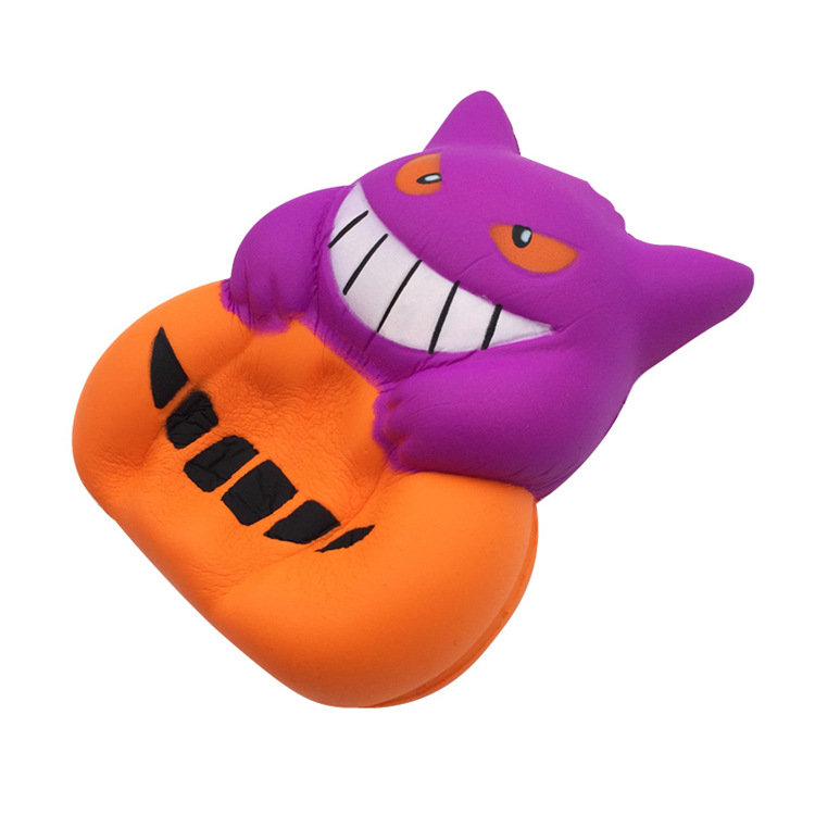 Halloween Devil Pumpkin Squishy Gift Toy