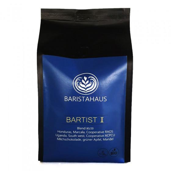 "Kaffeebohnen Baristahaus Kaffeerosterei ""Bartist II - Bio, Fair"", 500 g"