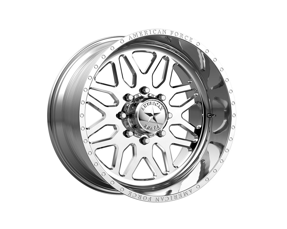 American Force AFTGB02S72-1-21 AFW B02 Trax SS Wheel 22x10 5x5x127 -18mm Polished