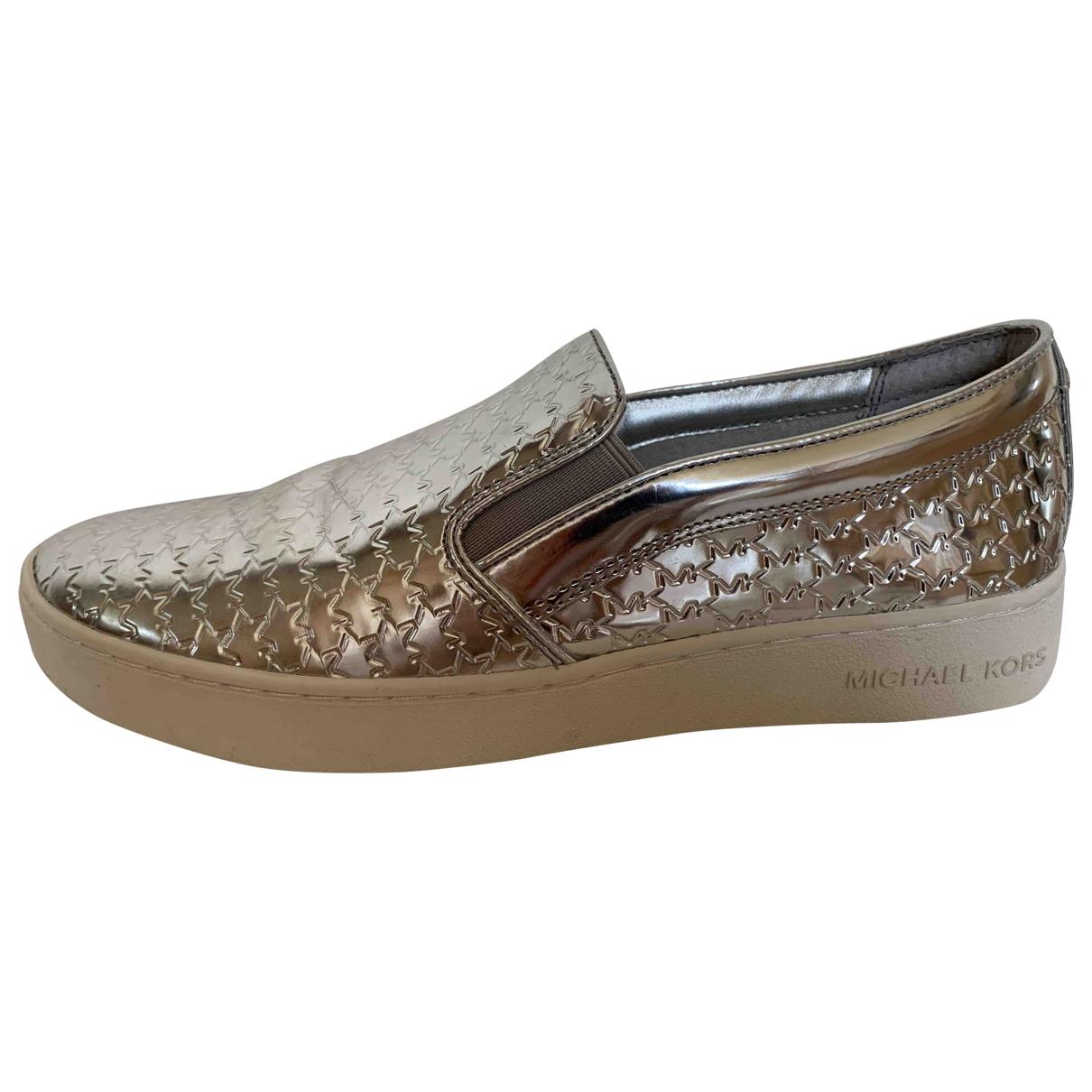 Michael Kors \N Sneakers in  Silber Kunststoff
