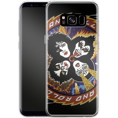 Samsung Galaxy S8 Silikon Handyhuelle - Rock And Roll Over von KISS®