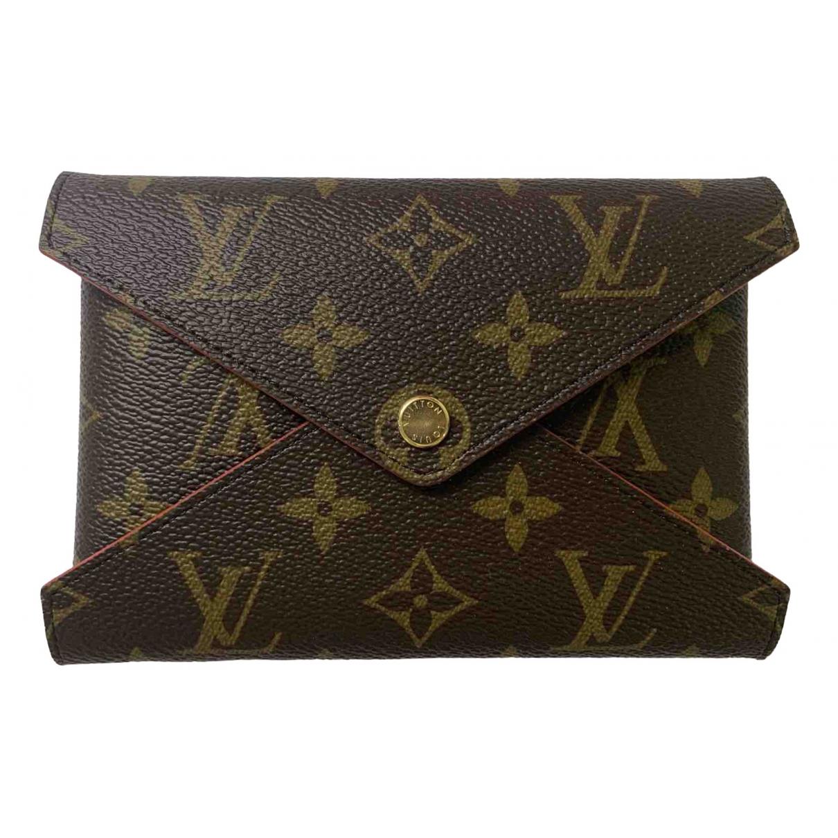 Louis Vuitton Kimono Brown Cloth handbag for Women \N
