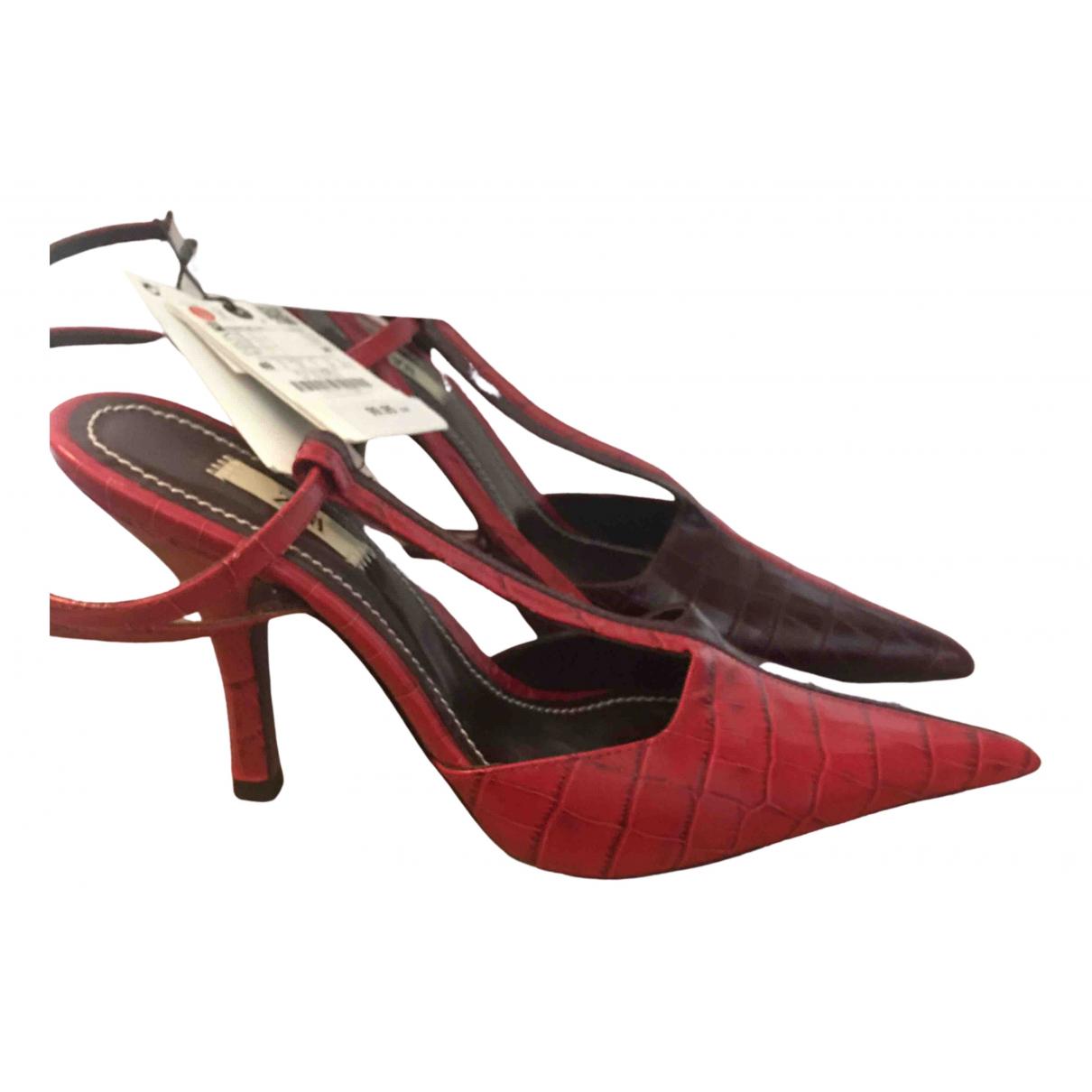 Zara \N Multicolour Leather Heels for Women 40 EU