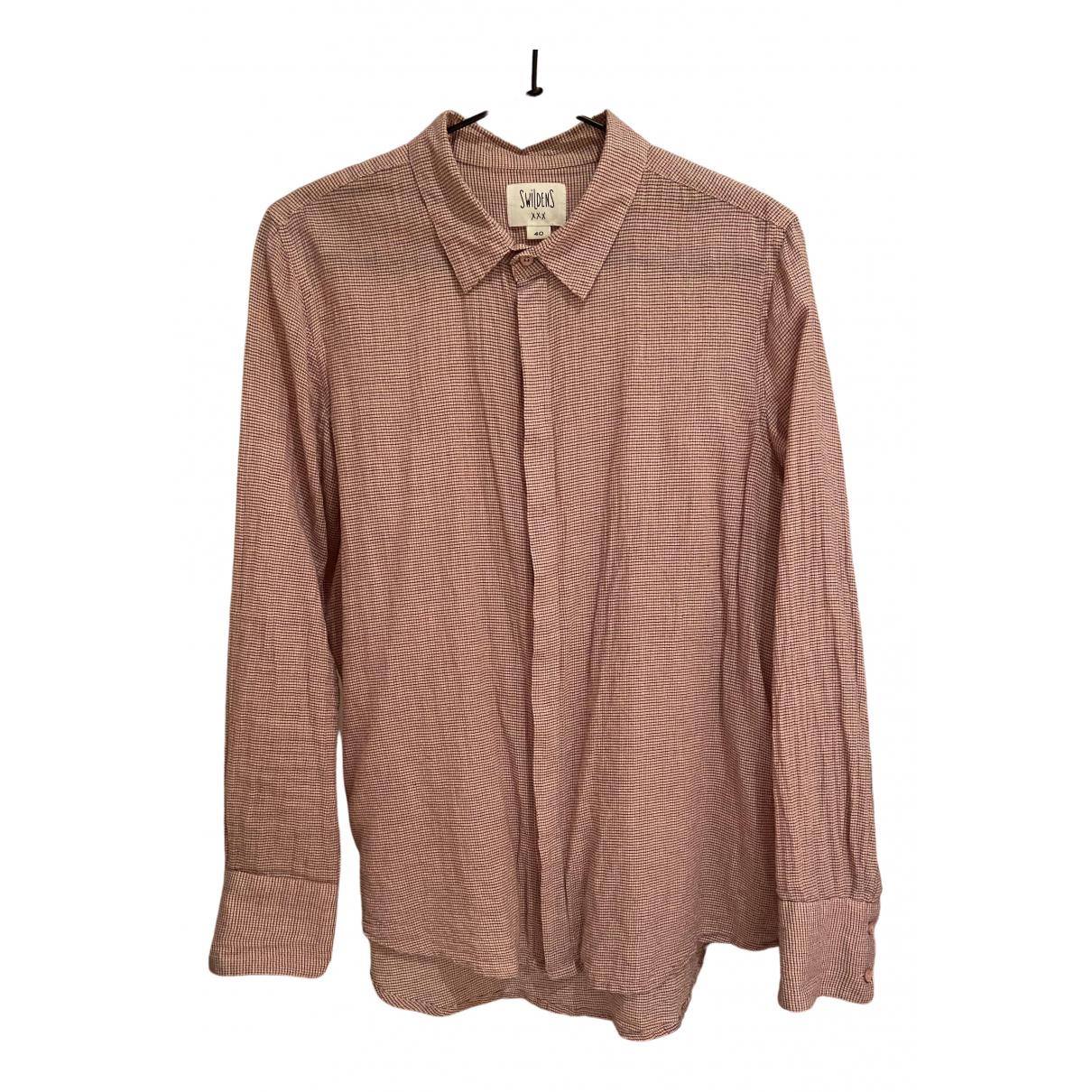 Swildens - Top   pour femme en coton - rose