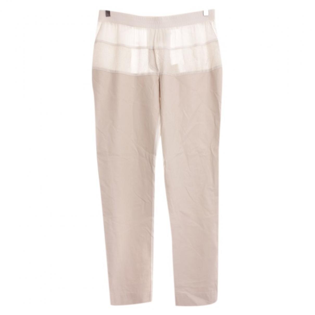 Pantalon en Viscosa Blanco 8pm