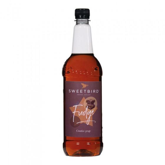 Sirup fuer Kaffee Sweetbird Caramel Fudge, 1 l