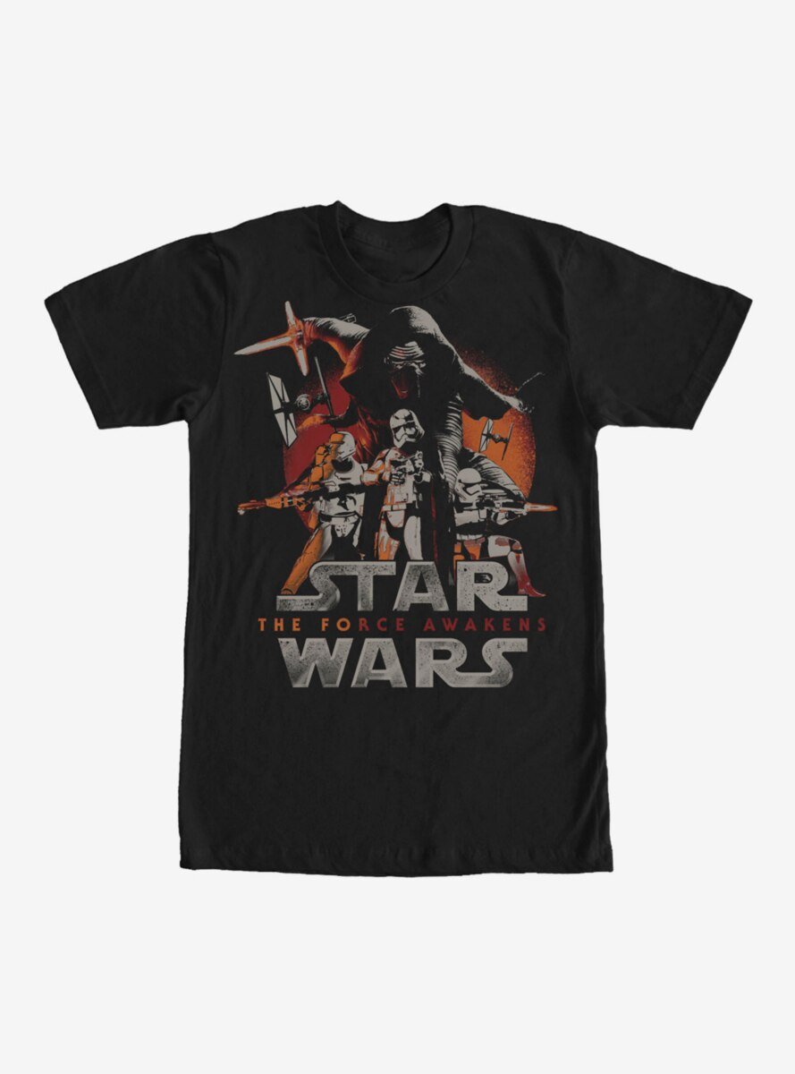 Star Wars The First Order Attacks T-Shirt