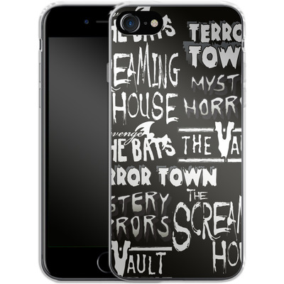 Apple iPhone 8 Silikon Handyhuelle - Terror Town Patterns von caseable Designs