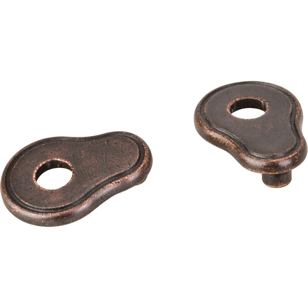Pull Escutcheon for use with 317-96 737-96 MO6273 and 109  Distressed Oil Rubbed Bronze