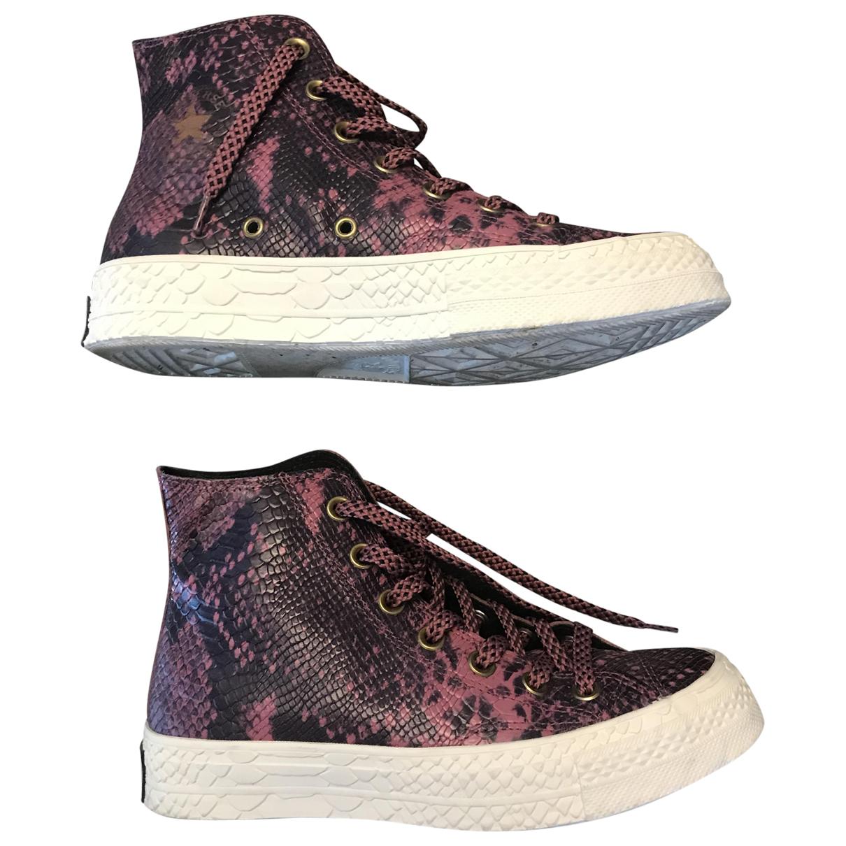Converse - Baskets   pour femme - violet