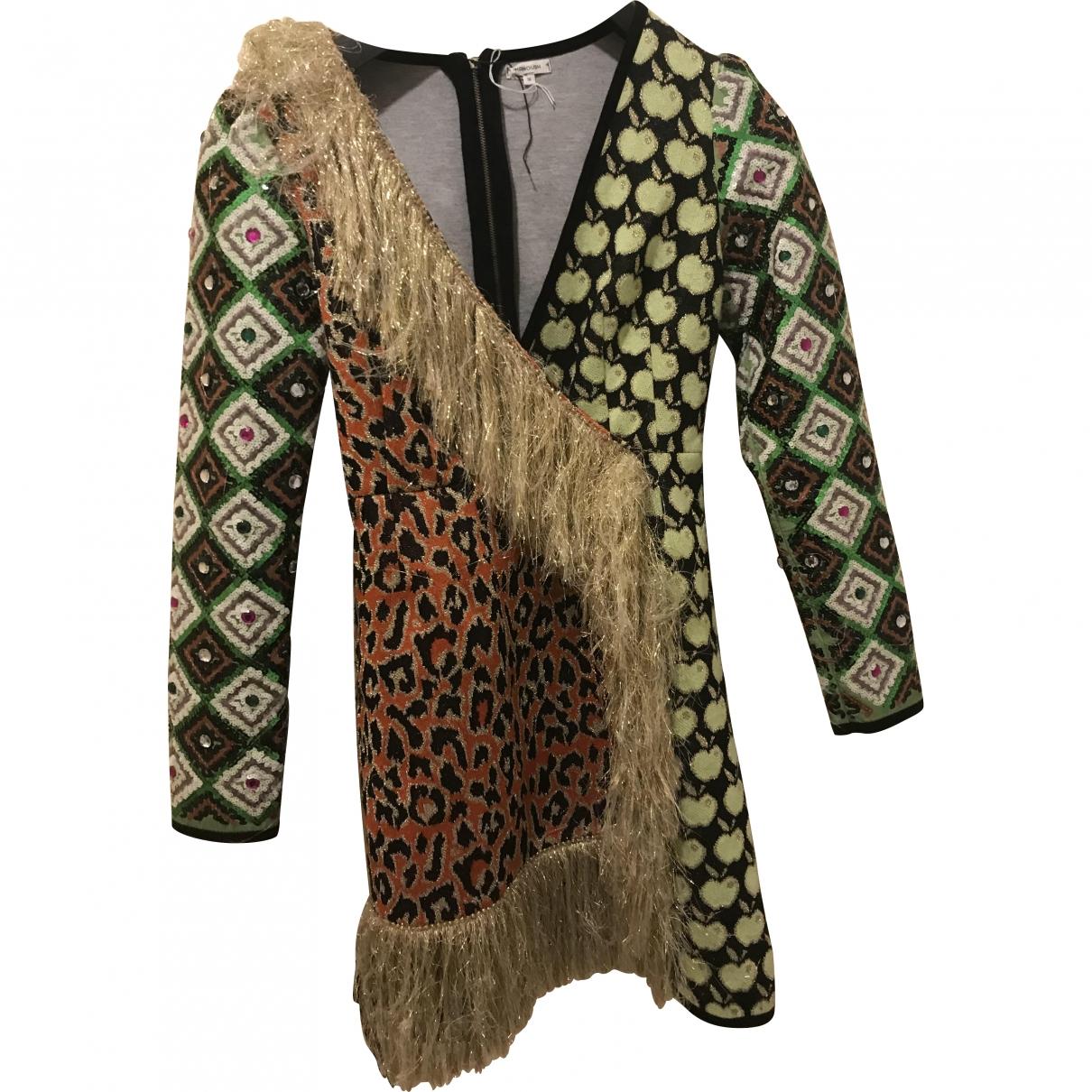 Manoush \N Kleid in  Bunt Baumwolle - Elasthan