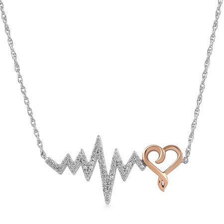 14K Rose Gold Over Silver 17 Inch Rope Chain Necklace, One Size , No Color Family