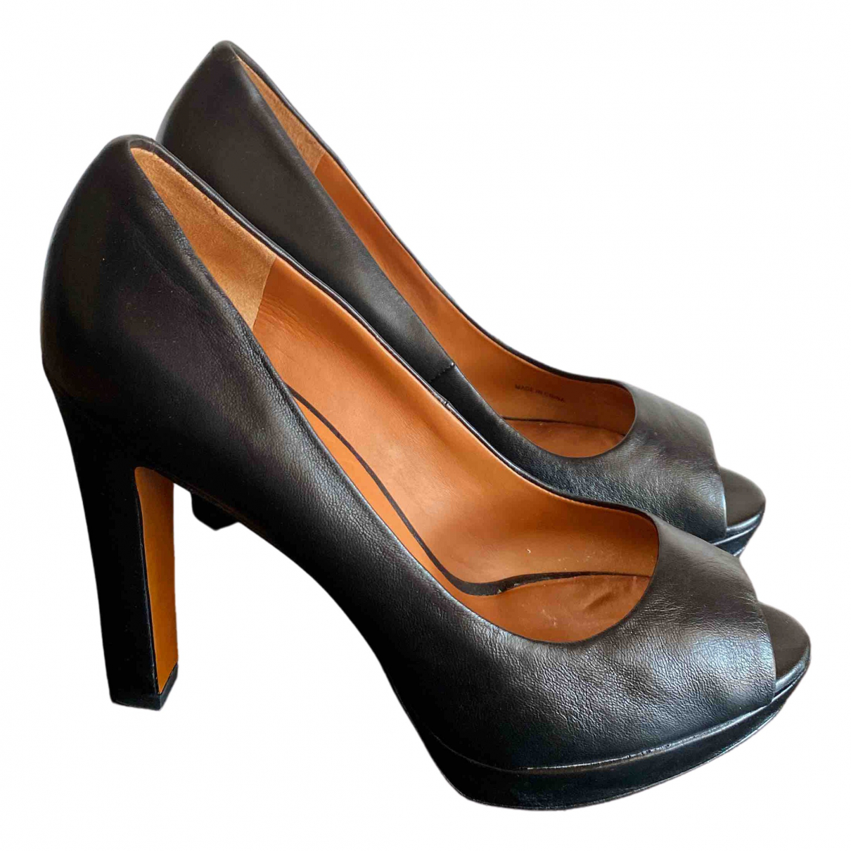 Marc By Marc Jacobs \N Black Leather Heels for Women 38.5 IT