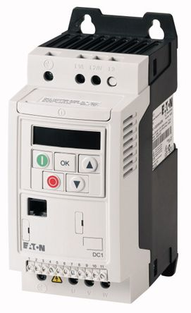Eaton Inverter Drive, 1-Phase In 0.75 kW, 230 V ac, 4.3 A DC1
