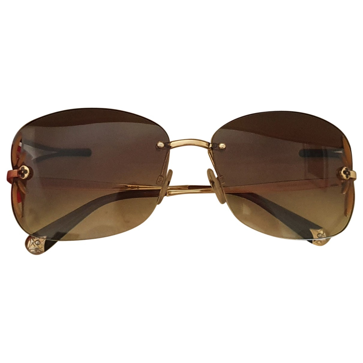 Louis Vuitton \N Brown Sunglasses for Women \N
